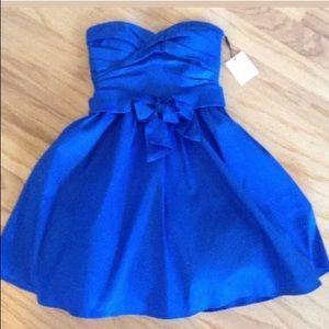 New Calvin Klein Atlantis strapless 6 tulle dress